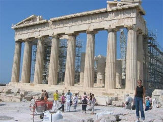 Athens Parthenon city views