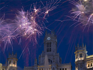 Madrid fireworks