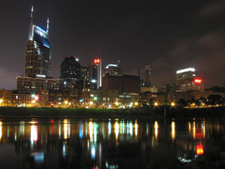 Nashville new year skyline