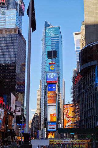 Times Square new york NYE