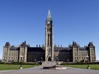 Ottawa Parliament Square and Peace Tower