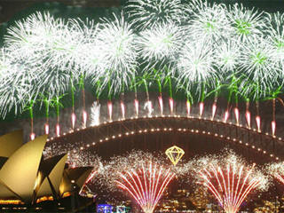 Sydney new years eve fireworks live